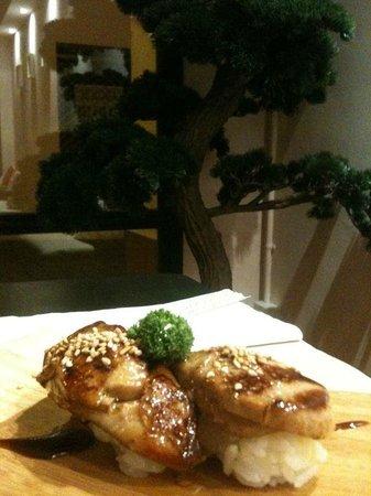 nami: Lo mejor del foie en sushi