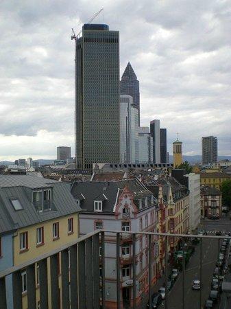 Hotel Hamburger Hof: Vista da sacada