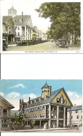 Thayers Inn: post card