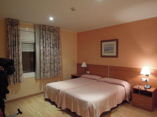 Hotel Catalunya: camera