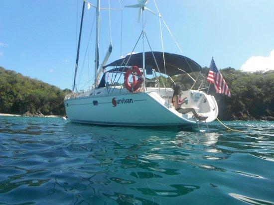 St. John Yacht Charters Survivan 사진
