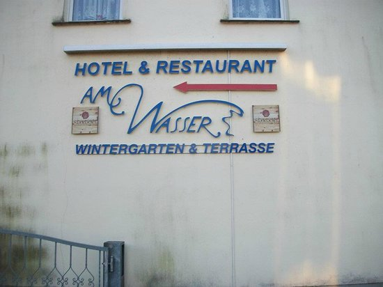 Hotel & Restaurant Am Wasser: Outside