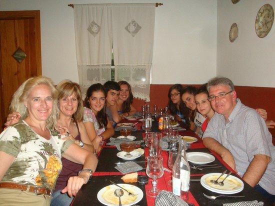 Canto do Paco : Alunos e professores 4º ESO IES La Albuera (Segovia-Espanha)