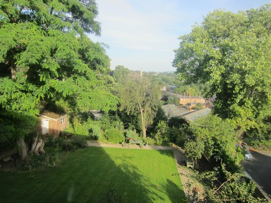 The Old House Suites: view from mary tudor suite