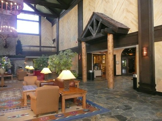 ‪‪Tenaya Lodge at Yosemite‬: Lobby area