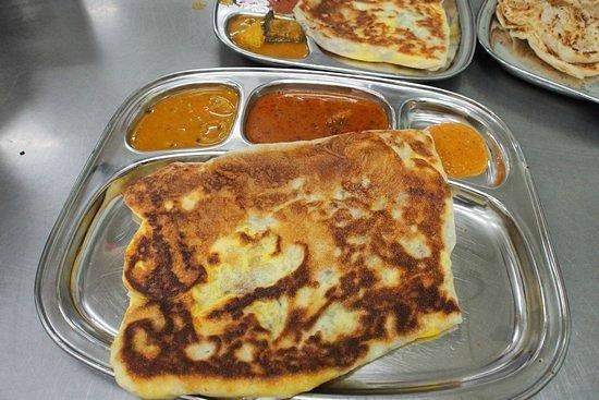 restoran saravanna : Roti canai