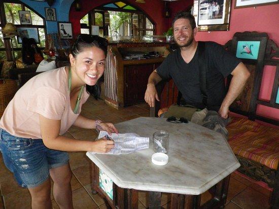 LangiLangi Beach Bungalows Cafe: found a geocache here too