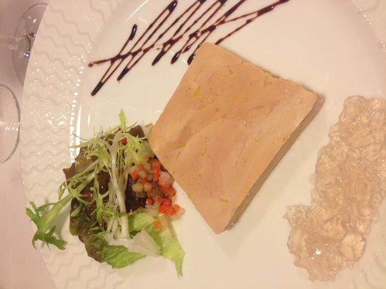 Restaurant La Forêt : Le foie gras