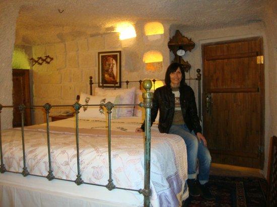 Gamirasu Cave Hotel: DELICIA DE QUARTO