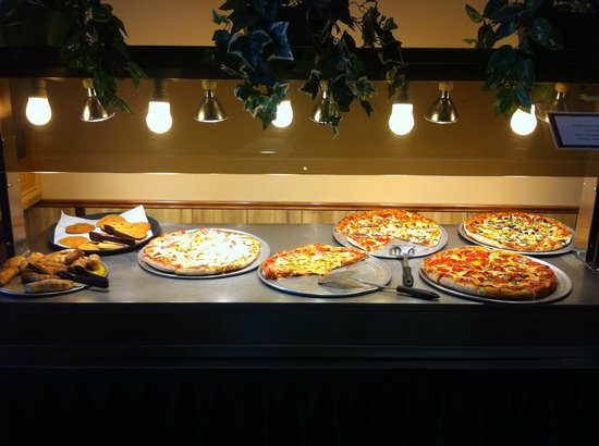 Gondola pizza: Pizza Buffet