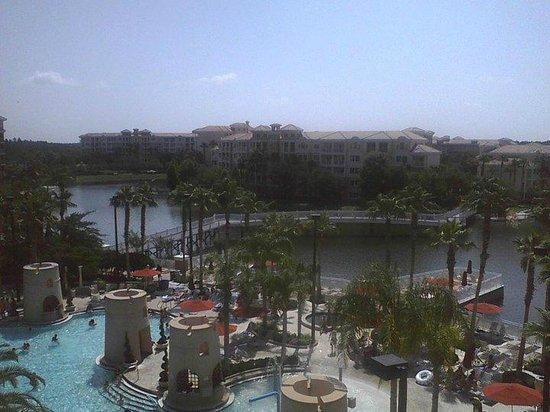 Marriott's Grande Vista: Waterviews from balcony