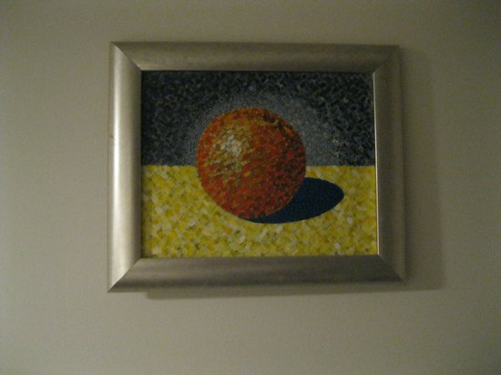هوتل لومباردي: Art work is beautiful!!!