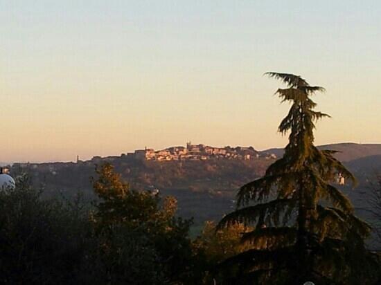 Montefollonico Centro Sorico: veduta da Montefollonico