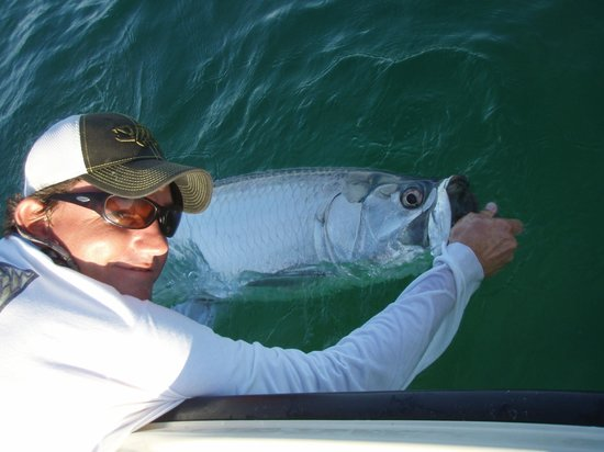 Florida keys fly fishing tarpon picture of epic tides for Fly fishing florida