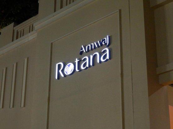Amwaj Rotana: Name