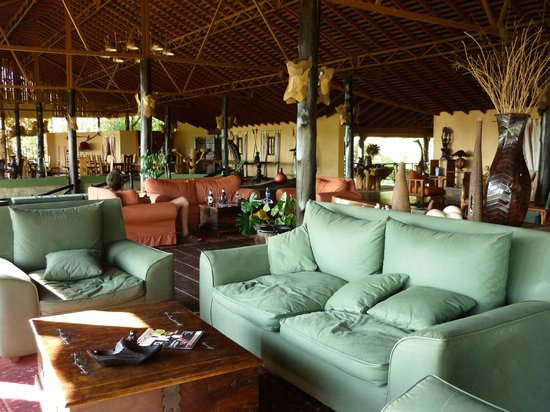 Tipilikwani Mara Camp - Masai Mara: Loung and dining room at Tiplikwani Lodge