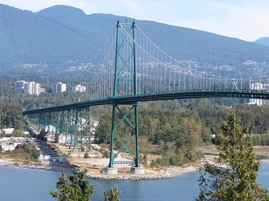 Wild BC Tours and Guiding: Lion's Gate Bridge Overlook