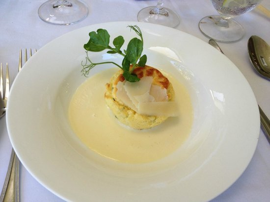 The Conservatory : The Cheese Soufflé
