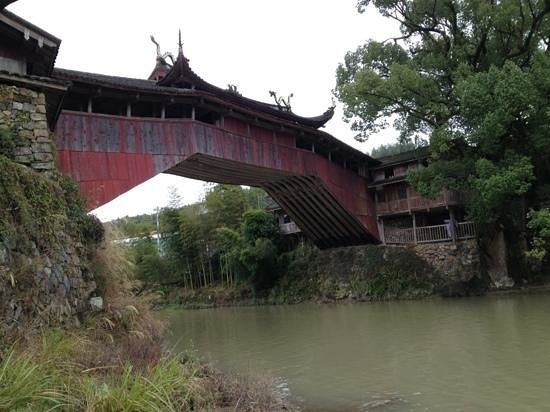 Taishun County, Cina: Bridge