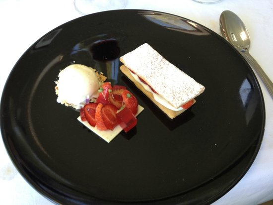 The Conservatory : That unusual cheese cake