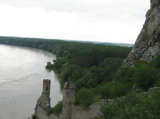 Bratislava, Slovakia: Devin Castle on the River