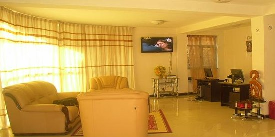 Ethio-Paramount Hotel: Reciption