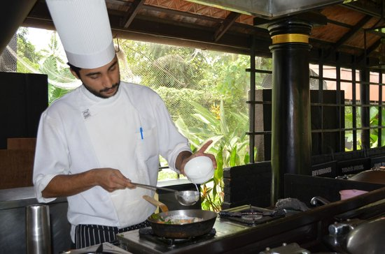 Vivanta by Taj - Kumarakom: Cooking demo