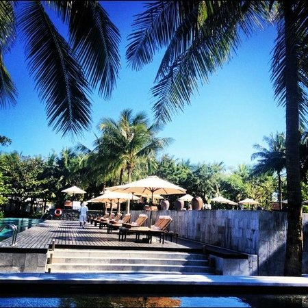 The Nam Hai Hoi An - a GHM hotel: View by the pool