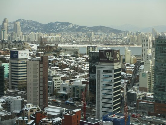InterContinental Seoul COEX: View to the front