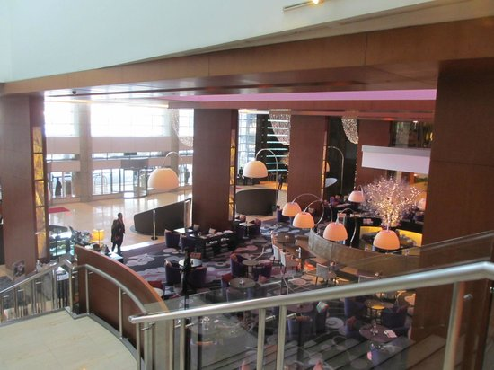 InterContinental Seoul COEX: Hotel lobby lounge and coffee bar