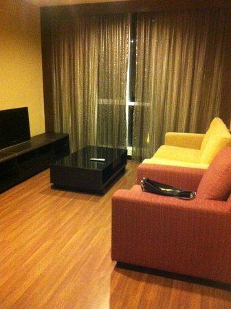 Grand Borneo Hotel: grand siute