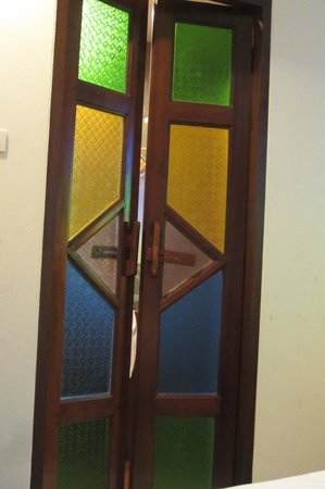 Chiangmai Boutique House: Bathroom door