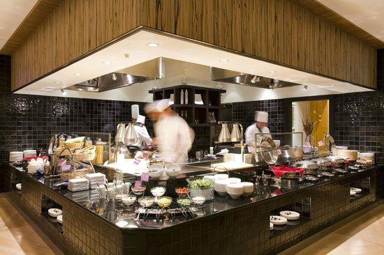 Hotel Harvest Kyu Karuizawa: Dinner buffet