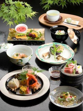 Hotel Harvest Kyu Karuizawa: Japanese-style dish
