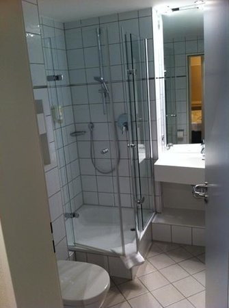 Comfor Hotel Frauenstrasse: ensuite (family room)
