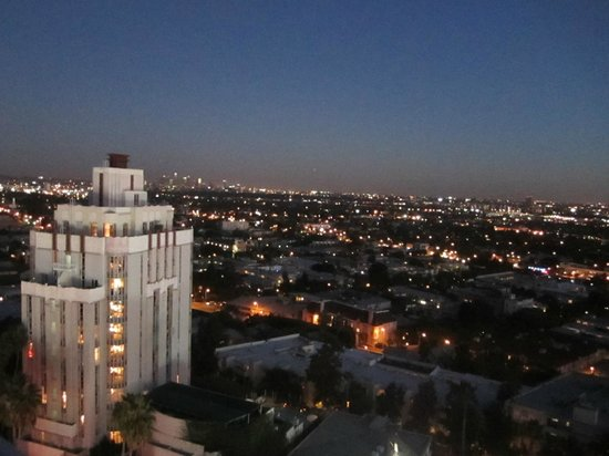 Andaz West Hollywood: View from the roof deck
