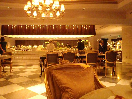 Lotte Hotel Moscow: Breakfast hall