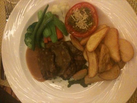 Basilico: Dec 2012 tenderloin steak