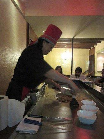 Benjarong: Chef Joseph at work