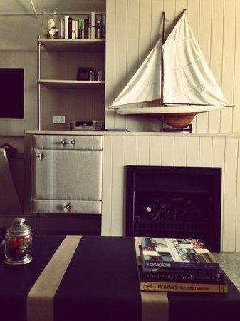 The Boatshed: lounge area