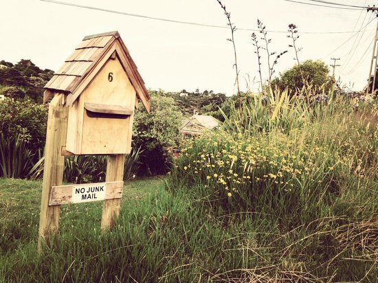 The Boatshed: Letterbox
