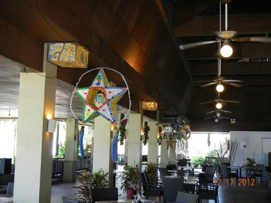 Dos Palmas Island Resort & Spa: X'mas decorations