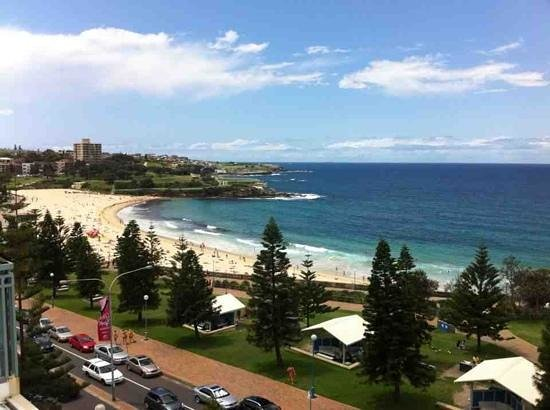 Coogee, Αυστραλία: sea view room