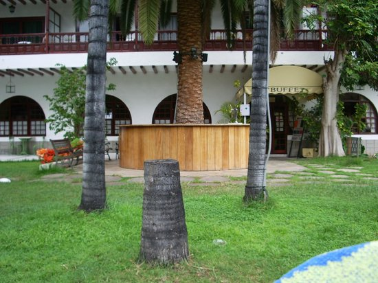 Teide Mar Apartments: Garten Poolbar