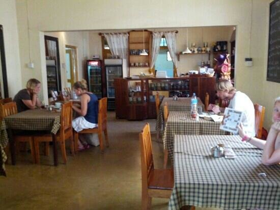 The Coffee Shop: inside the main coffee shop area