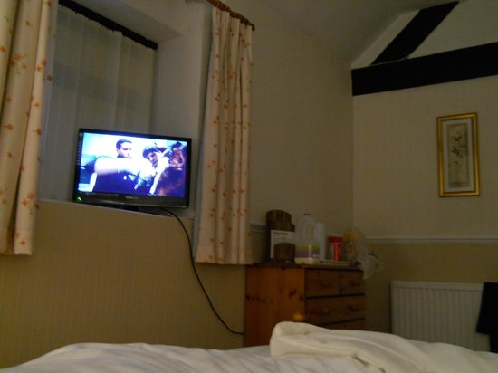 Newton House Hotel: TV with limited channels available