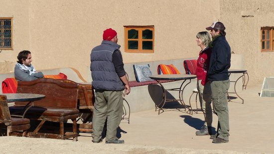 Guest House Merzouga: welcoming on the rooftop overlooking the most amazing view of the Sahara desert!