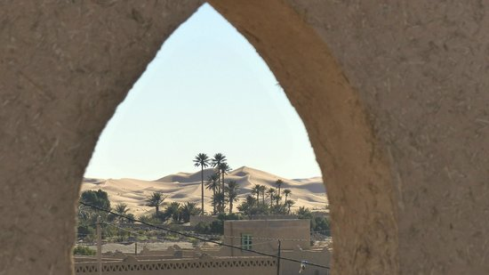 Guest House Merzouga: rooftop view