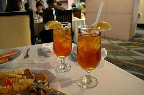 Hawaii Prince Hotel Waikiki: Refreshing pomegranate iced tea