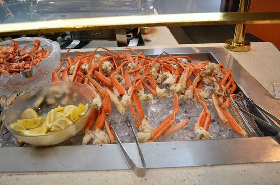 Hawaii Prince Hotel Waikiki: Yummy fresh snow crabs